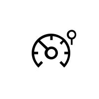 Kontrolne lučke omejevalnika hitrosti, regulatorja hitrosti in prilagodljivega regulatorja hitrosti