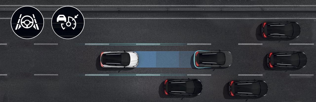 Pomoč pri vožnji na avtocesti in v prometnem zastoju
