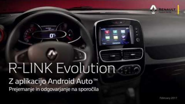 R-LINK EVOLUTION Z APLIKACIJO ANDROID AUTO - SLV