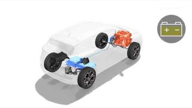 E-TECH PLUG-IN HYBRID - Predstavitev elektromotorjev in baterij