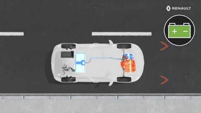 E-TECH PLUG-IN HYBRID - Funkcija E-navigacija
